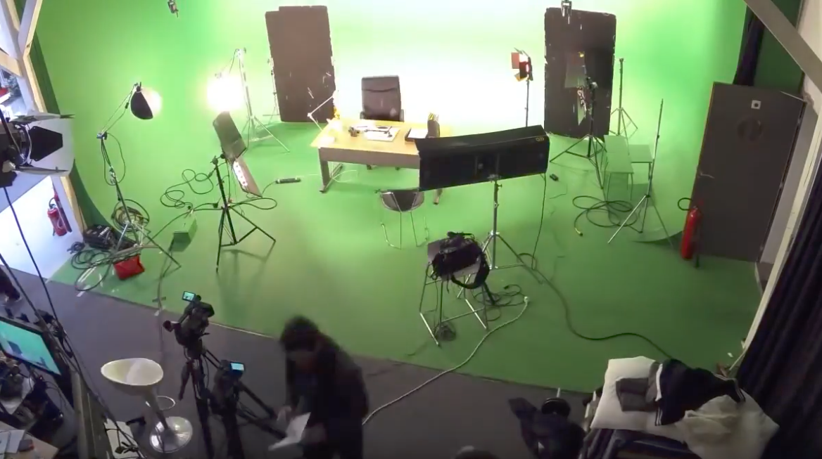 Studio fond vert