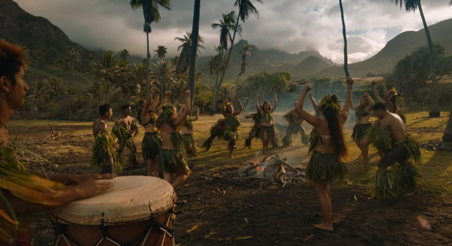 groupe de danse marquisien MOTU HAKA